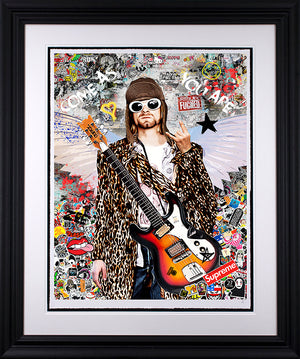 Zee - 'Come As You Are' (Kurt Cobain) - Limited Edition Art & Original