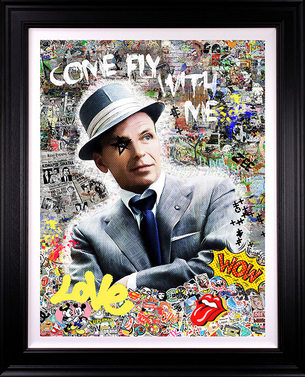 Zee - 'Come Fly With Me' (Frank  Sinatra) - Limited Edition Art
