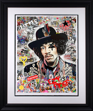 Zee - 'EZY Rider'  (Jimi Hendrix) - Limited Edition Art & Original