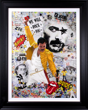 Zee - 'We Will Rock You' (Freddie Mercury) - Limited Edition Art