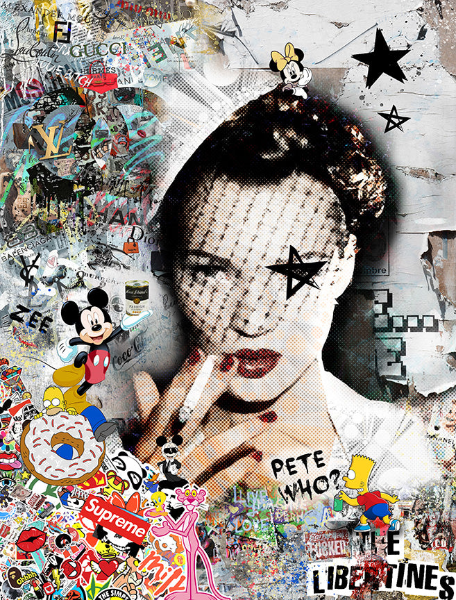 Zee - 'It's All Gucci' (Kate Moss) - Limited Edition Art