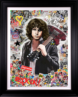 Zee - 'Light My Fire' (Jim Morrison) - Limited Edition Art & Original