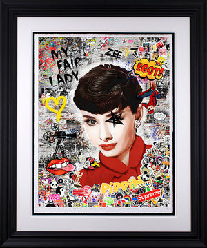 Zee - 'My Fair Lady' (Audrey Hepburn) - Limited Edition Art & Original