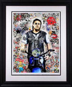 Zee - 'Anarchy' (Sons of Anarchy) - Limited Edition Art & Original