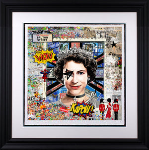 Zee - 'High Society' (The Queen) - Limited Edition Art