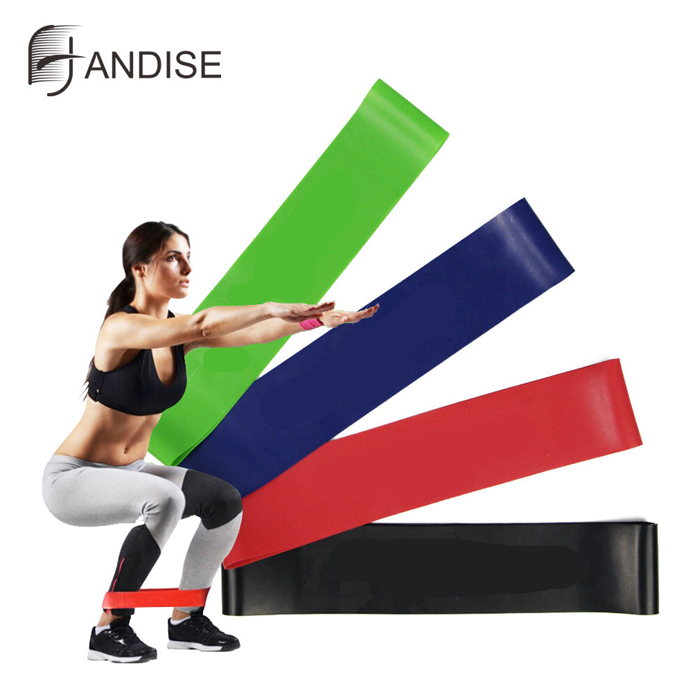 NEW Training Resistance Bands Fitness Gum Exercise Gym Strength Expander Pilates
