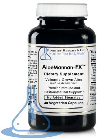 AloeMannan-FX (30 caps) by Premier Research Labs - 1
