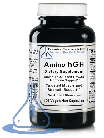 Amino hGH (105 caps) by Premier Research Labs - 1