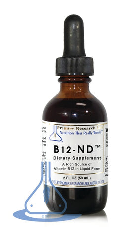 B12-ND™ (2 fl oz) Liquid by Premier Research Labs - 1