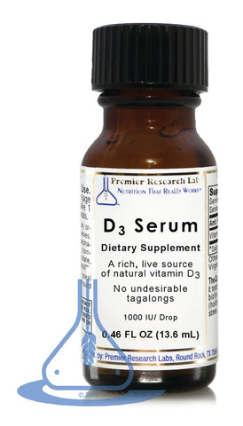 D3 Serum (.46 fl oz) by Premier Research Labs - 1
