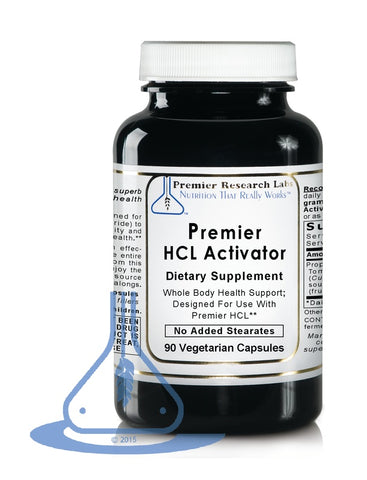 HCL Activator, Premier (90 caps) by Premier Research Labs - 1