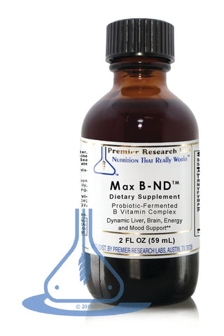 Max B-ND (2 fl oz) Liquid by Premier Research Labs - 1