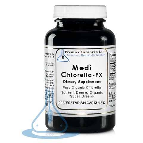 Medi-Chlorella-FX (90 caps) Organic by Premier Research Labs - 1