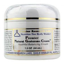 Gesterone Cream (1.5 oz) by Premier Research Labs