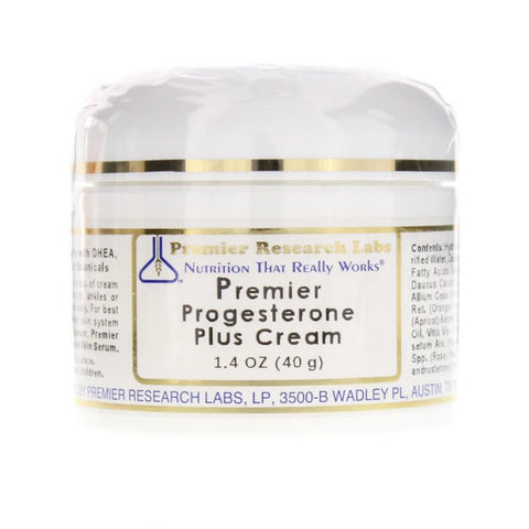 Premier Progesterone Plus Cream by Premier Research Labs