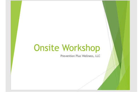 Onsite Certified Program Implementers Workshop