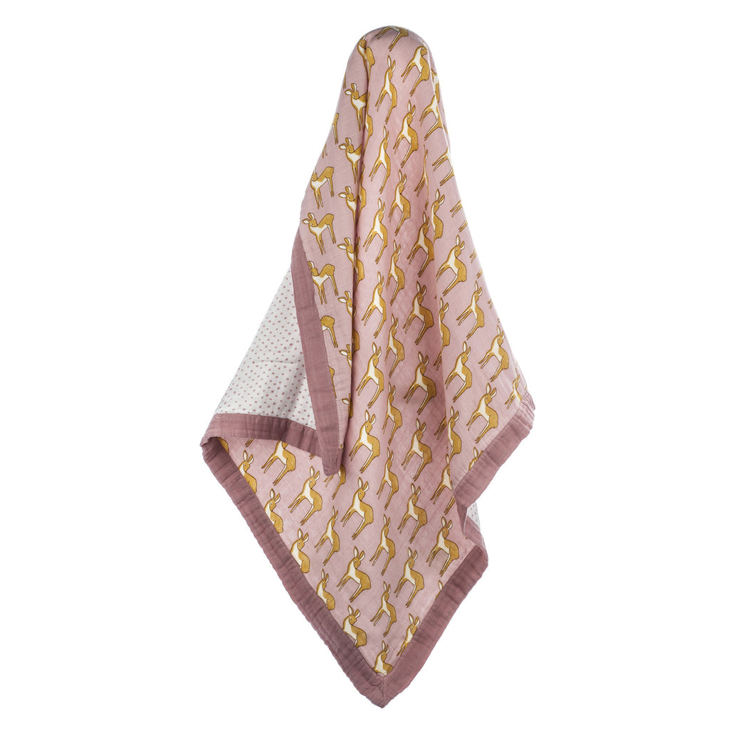 Bamboo & Cotton Big Lovey - Rose Doe