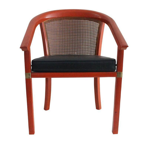 Mid Century Cane Back Occasional Chair