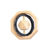 Wooden Teether Toy -  Montana Black