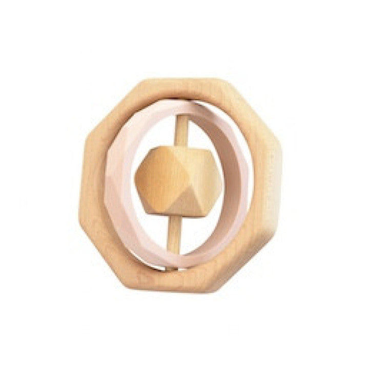 Wooden Teether Toy -  Montana Blush