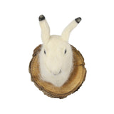 Felt Winter Hare Mount