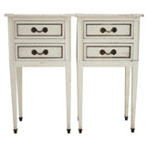 G.E.K.A. Distressed Nightstands - Pair