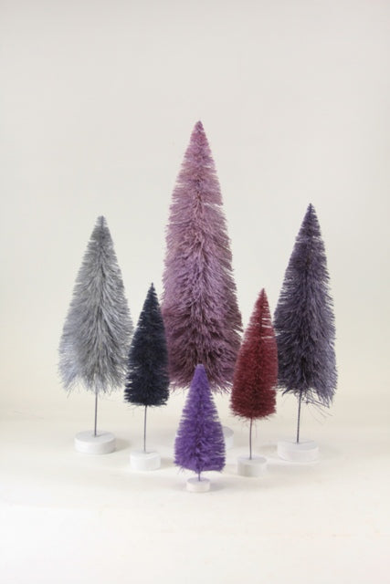 Rainbow Trees Purple Set/6