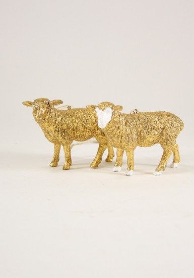 Gilded Sheep Ornament