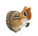 Felt Chipmunk Mount