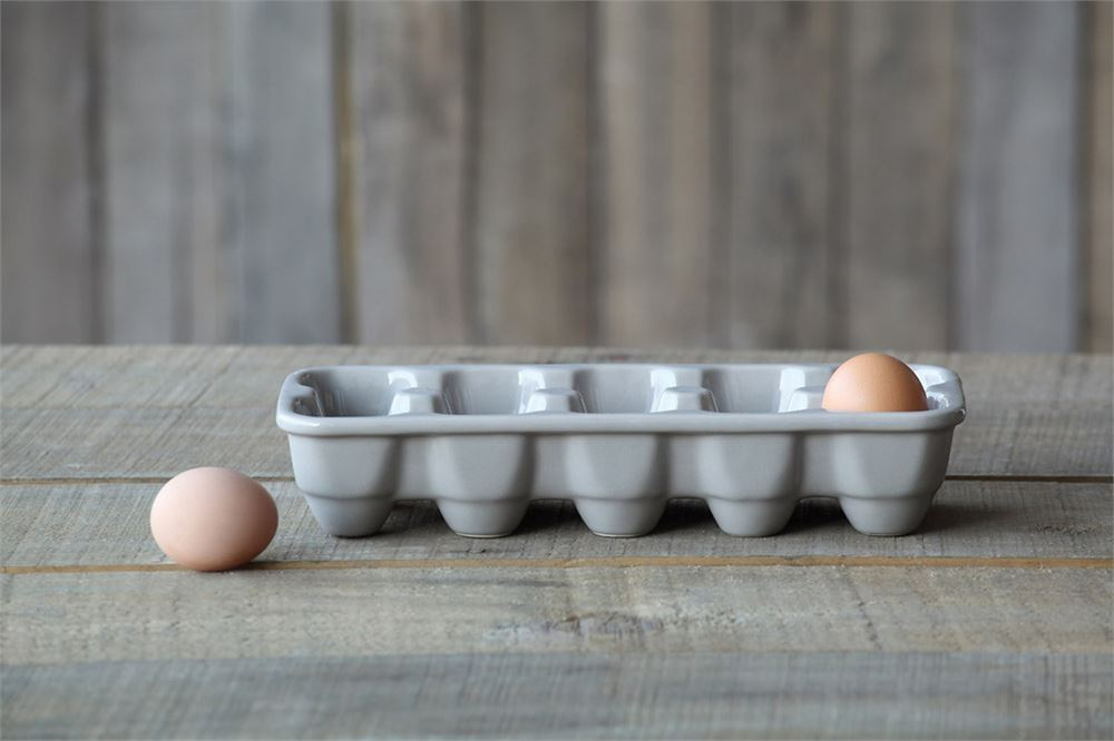 Farmhouse Stone Egg Holder