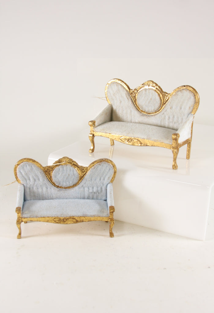 Antique Style French Settee Ornament