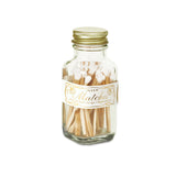 Mini Matchstick Bottle - White Gold