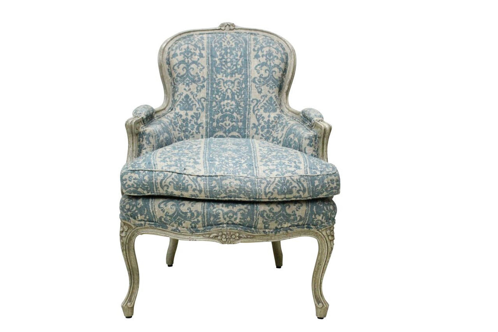 Blue & White French Bergere