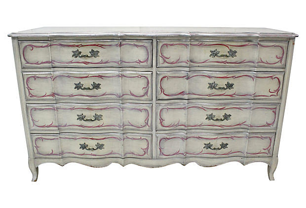 French Style 8-Drawer Dresser