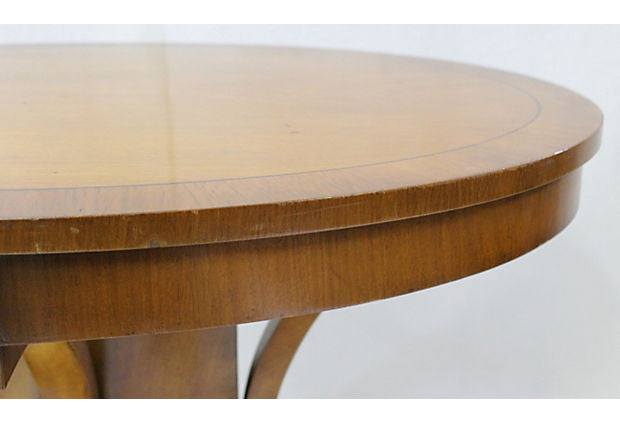 Vintage Cherry Oval Center Table