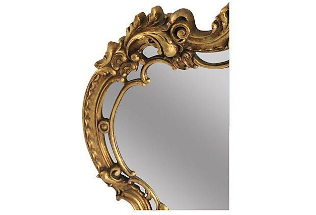 Gilded Carved Wall Mirror