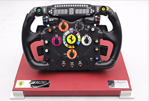 Amalgam Ferrari F138 replica steering wheel Alonso