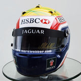 Mark Webber helmet 2003 Jaguar F1 Formula one arai GP5