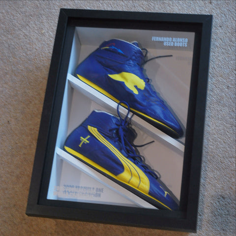 Fernando Alonso 2006 worn boots f1 renault