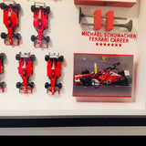 Michael Schumacher Ferrari career signed models f1 formula 1 1/43