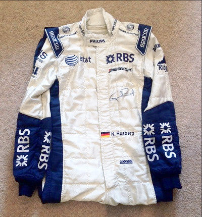 Nico Rosberg Williams F1 overalls race suit 2009