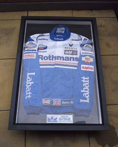 Damon Hill Sparco jacket