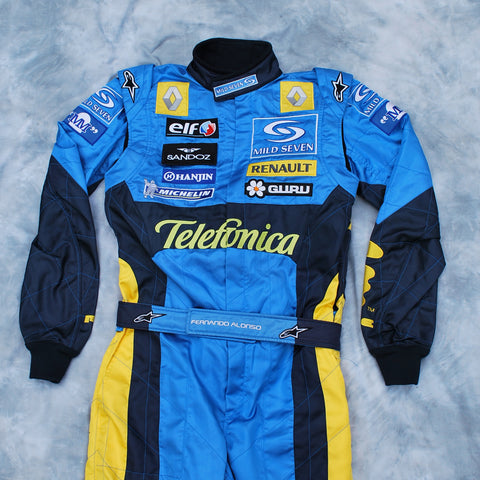 Fernando Alonso Renault F1 overalls race suit