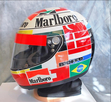 Gerhard Berger 1995 no war helmet