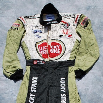 Jacques Villeneuve BAR Honda race suit F1 overalls 2001