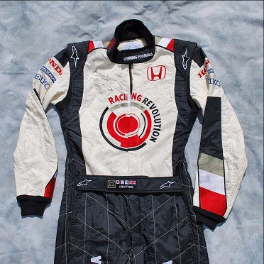 Jenson Button 2006 signed race suit overalls Honda F1