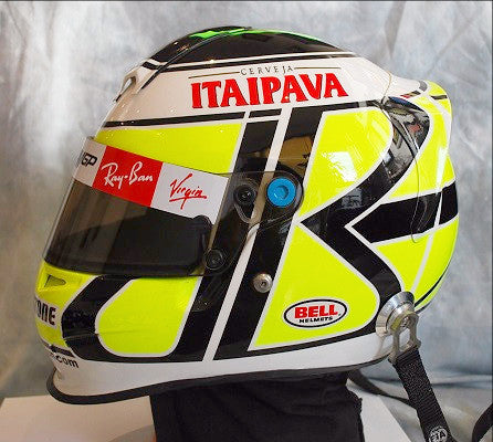 Jenson Button 2009 brawn replica helmet