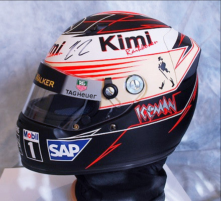 Kimi Raikkonen 2006 official replica signed helmet arai