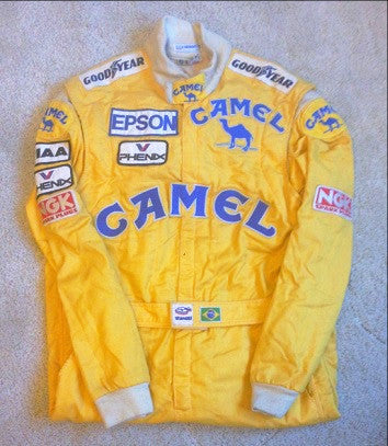 Nelson Piquet Lotus F1 overalls worn suit race