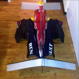Sebastian Vettel signed RB4 Red Bull engine cover